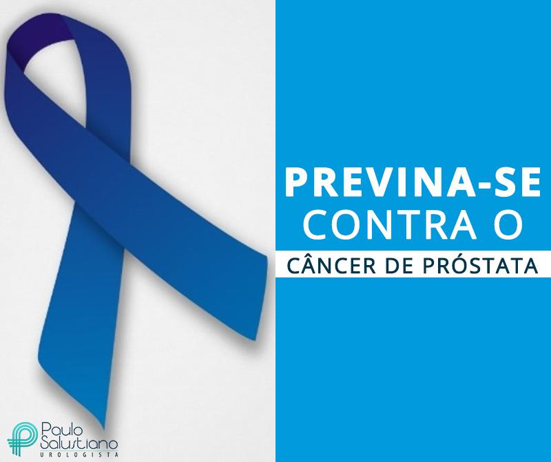 Previna-se contra o câncer de próstata