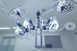Da Vinci, aparelho que realiza a cirurgia robótica