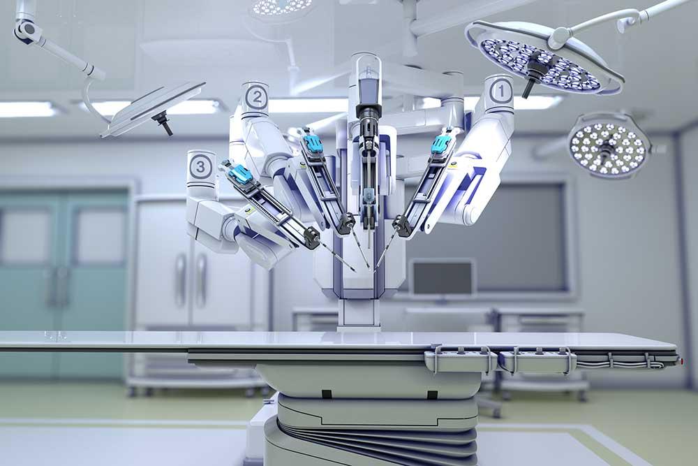 Aparelho de cirurgia robótica Da Vinci | O procedimento na urologia